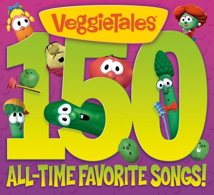 150 ALL TIME FAVORITE SONGS BY VEGGIE TALES (CD)